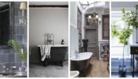Gri Banyo Tasarımı Dekorasyonları